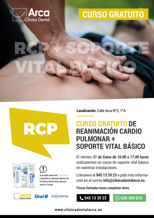 Curso RCP en Vitoria